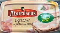Fromage fondu au jambon - Produit