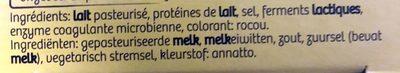 Maredsous Fromage Tradition - Ingrediënten - fr