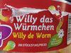 Willy das Würmchen - Produkt