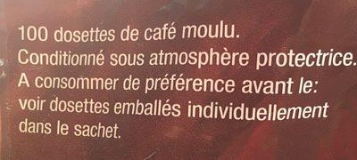 Café deluxe corsé - Ingrédients