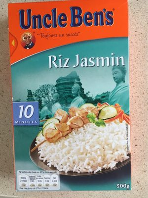 Uncle Ben's Riz Jasmin naturellement parfumé 500 g - Product