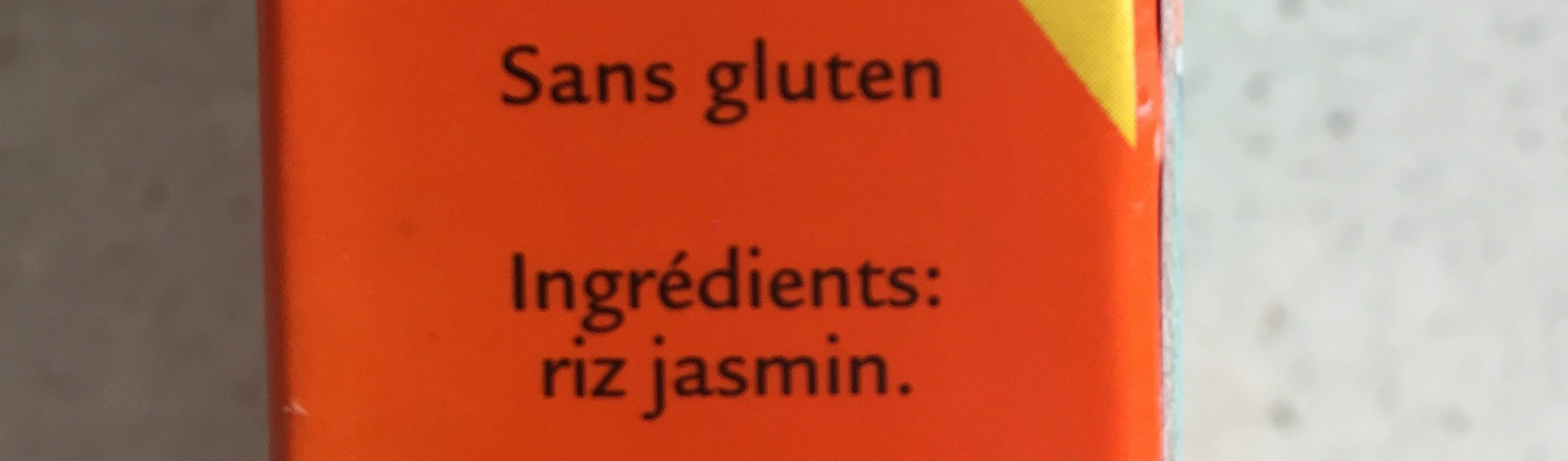 Uncle Ben's Riz Jasmin naturellement parfumé 500 g - Ingredients