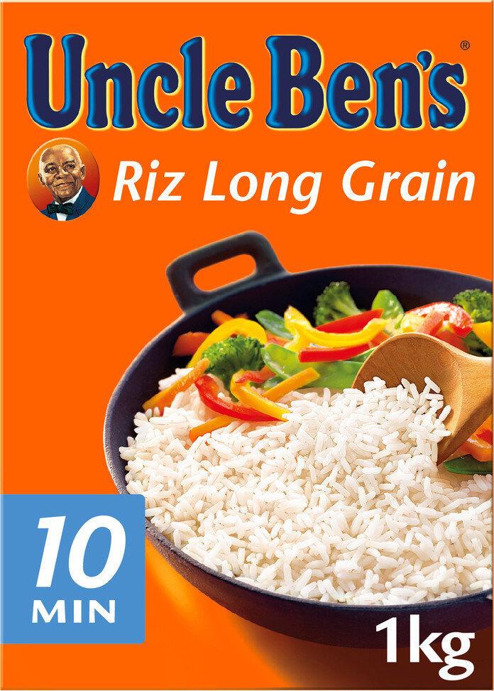 Riz cuisson rapide Uncle Ben's 1 kg - Produit - fr