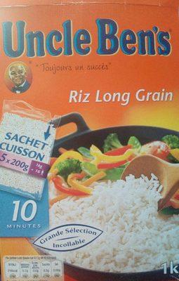 Riz Long Grain En Sachet Cuisson - Produit - fr