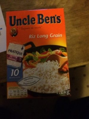 Riz long grain Uncle Ben's - Product - fr