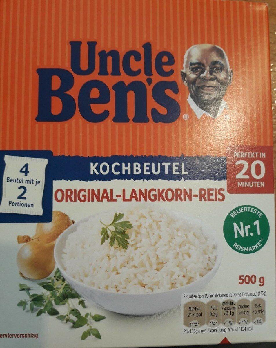 Original Langkorn Reis - Produit - de