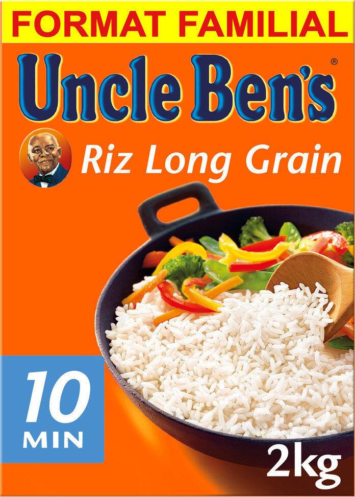 Riz cuisson rapide Uncle Ben's  2 kg - Produit - fr