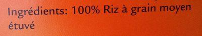 Riz pour Risotto - Ingredients