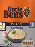 Uncle Ben's - Basmati-Reis - Product