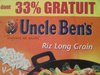 Riz Long Grain, Uncle Ben's, 1kg - Product