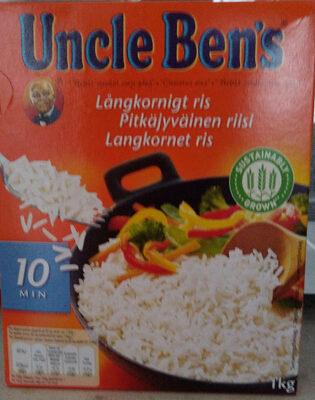 Pitkäjyväinen riisi - Tuote - fi