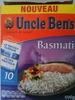Riz Uncle Ben's sachets- Basmati - Produit