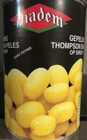 Raisins Thompson pelés au sirop - Product - fr