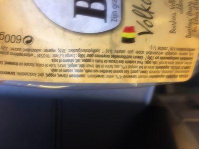 Boerkens Grains complets - Ingrediënten - fr