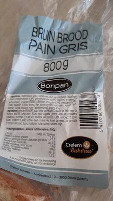 Pain gris - Produit