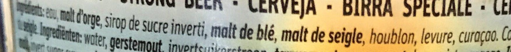 Chouffe Soleil - Ingredients