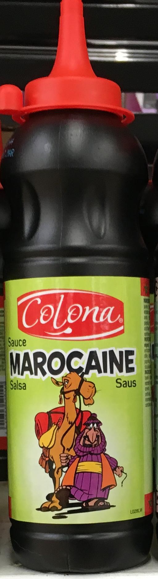 Sauce Marocaine - Product - fr
