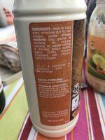Sauce Big Burger - Inhaltsstoffe - fr