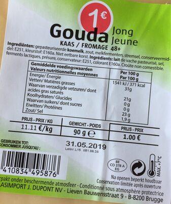 Gouda jeune 48+ - 3