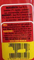 Corned Beef - Ingredients