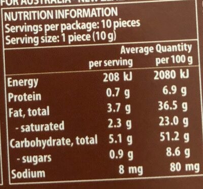 Guylian Chocolate No Added Sugar Belgian Milk Choclate - Nutrition facts - fr