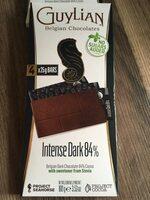 Guylian Chocolate Belgian Dark Chocolate No Added Sugar - Produit - fr