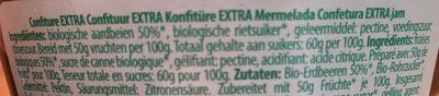 Pur Natur Fraises 370G - Ingrediënten - fr