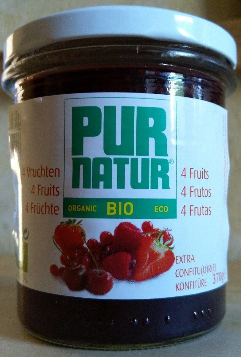 Pur Natur 4-fruits 370G - Product - fr