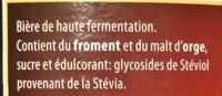 Rouge - Ingredients - fr