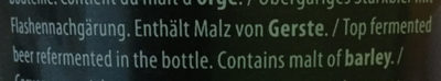 Belgian Ale - Ingredients - en