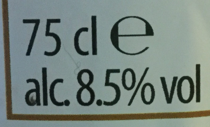 Belgian Ale - Nutrition facts - fr