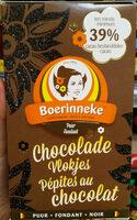 Pépites au chocolat noir - Produit - fr