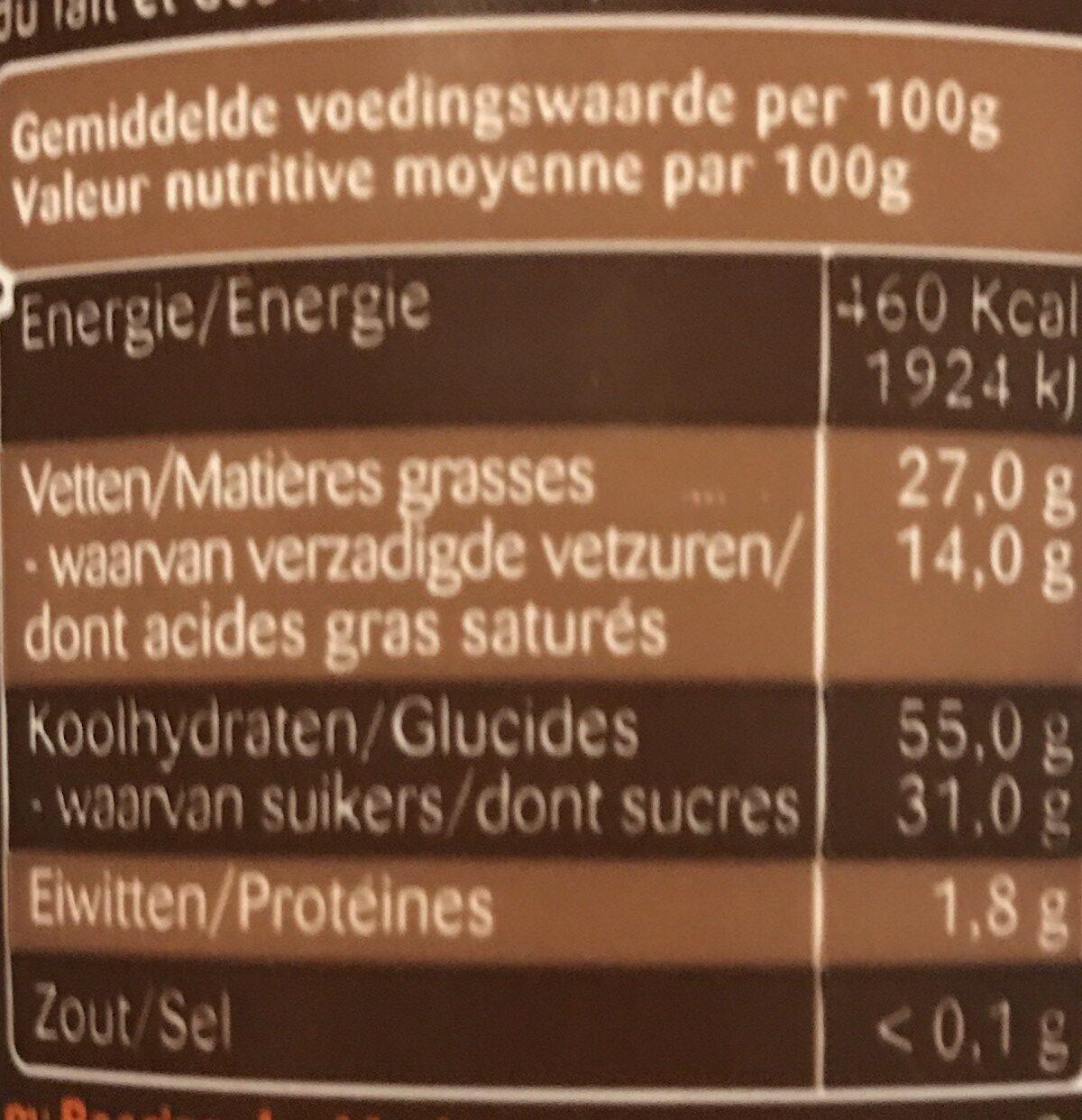 Choco Marino 1KG - Ingrediënten