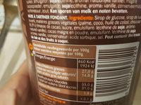 Choco Marino 1KG - Voedingswaarden