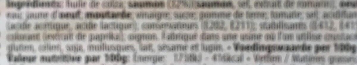 Saumon - Ingrédients - fr