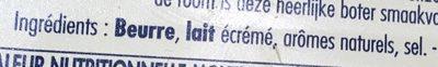 Frigotartinable au sel marin - Ingrédients - fr