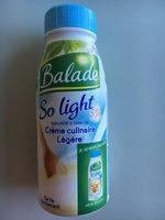 """Crème culinaire légère """"So light"""" - Produkt - fr"""