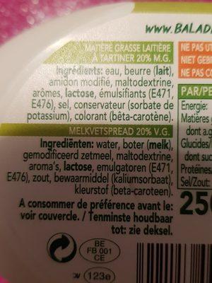 Balade So light - Ingrediënten