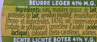 Beurre demi-écrémé doux - Ingrédients - fr