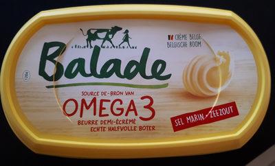 Beurre Balade Omega 3 Sel Marin - Product
