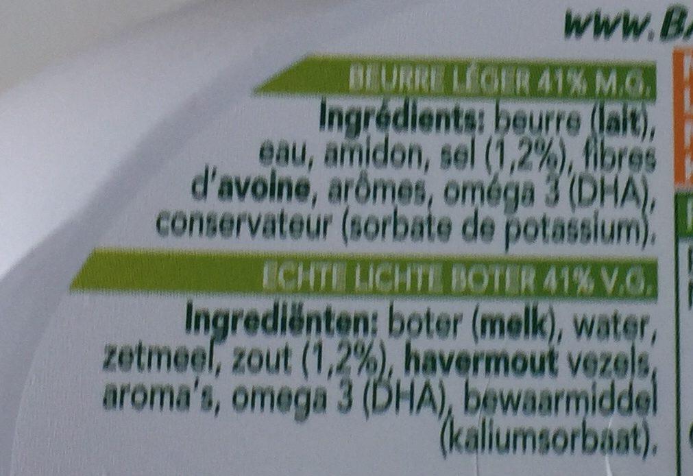 Beurre Balade Omega 3 Sel Marin - Ingrediënten