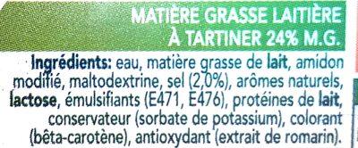 Balade Vital - Ingredients - fr