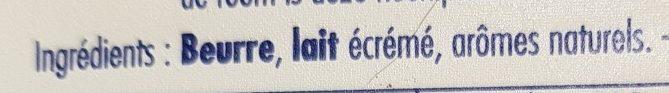 Charlesbourg frigotartinable - Ingrediënten - fr