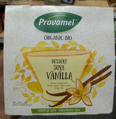Organic - bio dessert soya vanilla - Product - fr