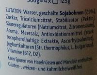 Soya Natur - Ingrediënten