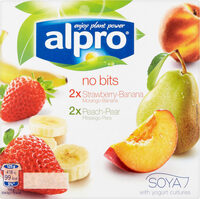Alpro Smooth Fruit Yogurt 4X125g - Prodotto - en