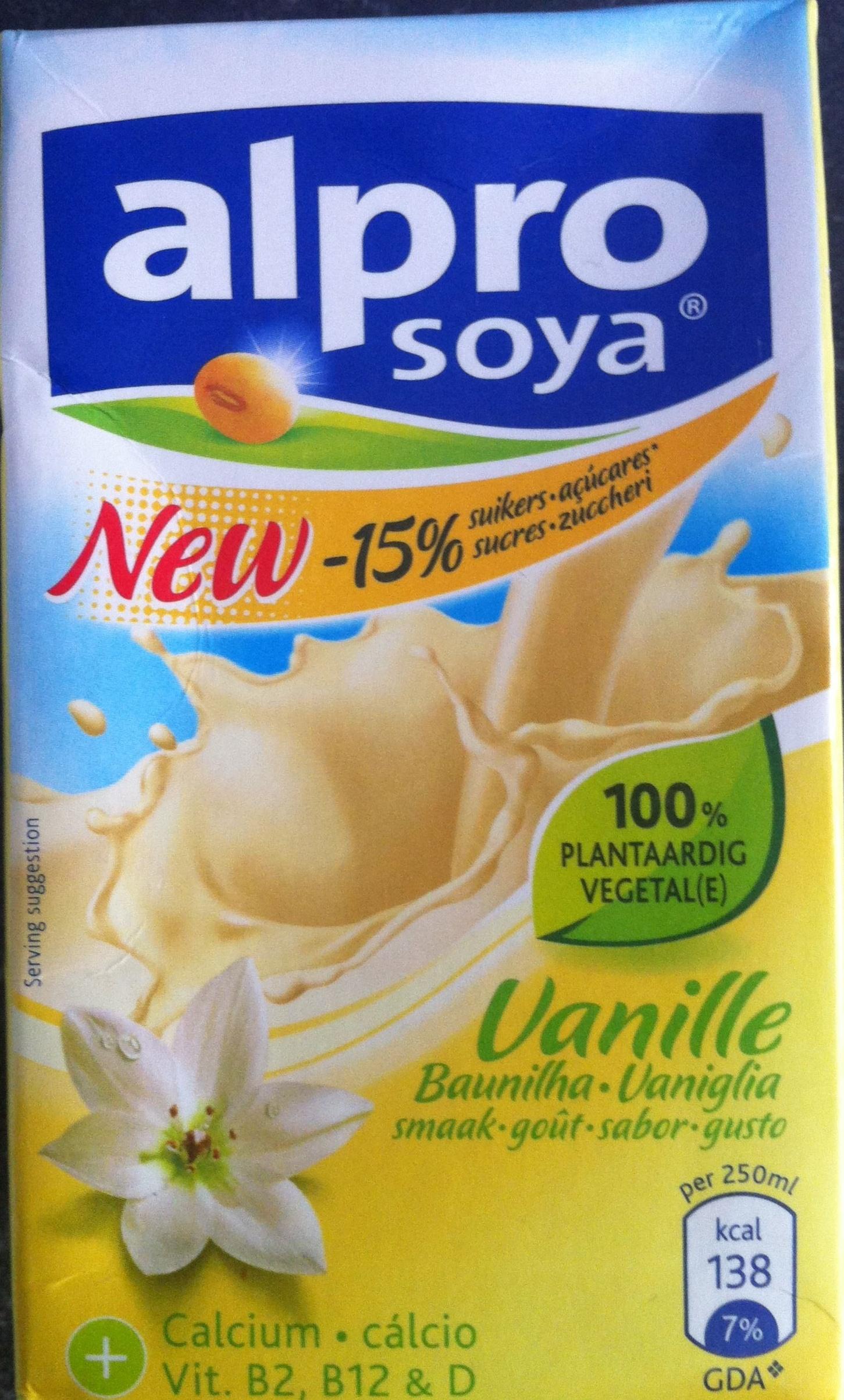Alpro Soya Vanille - Product - fr