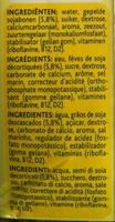 Alpro Soya Vanille - Ingrediënten - fr