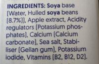 Soya Drink Original - Ingredients - en