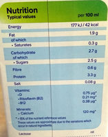 Soya Drink Original - Informations nutritionnelles - fr